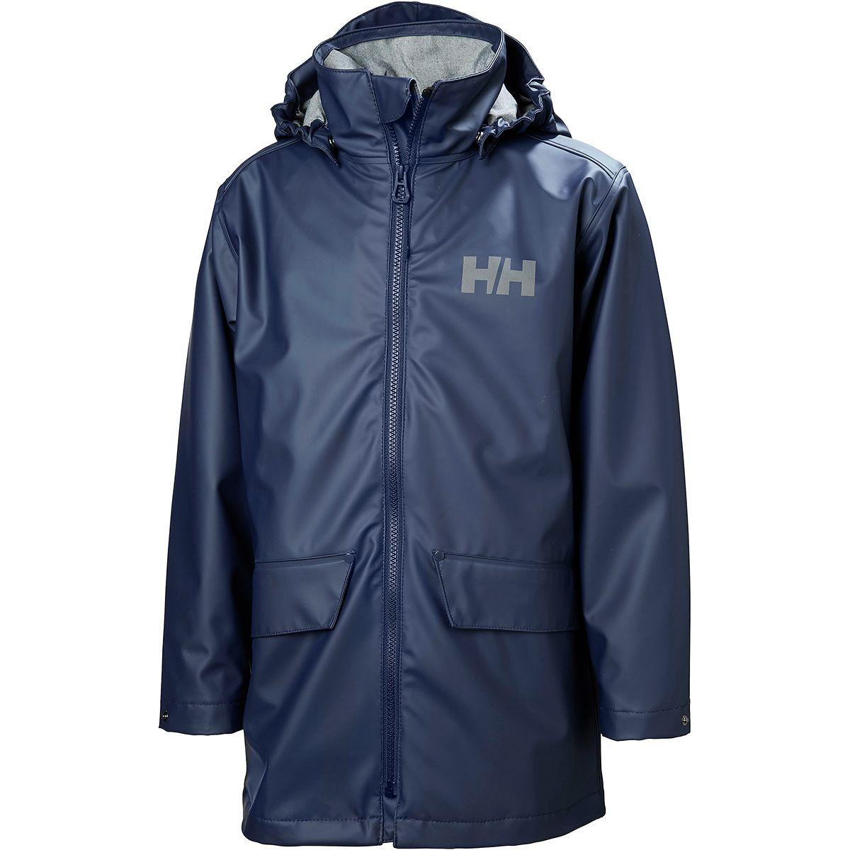 photo: Helly Hansen Jr Skudenes PU Jacket waterproof jacket