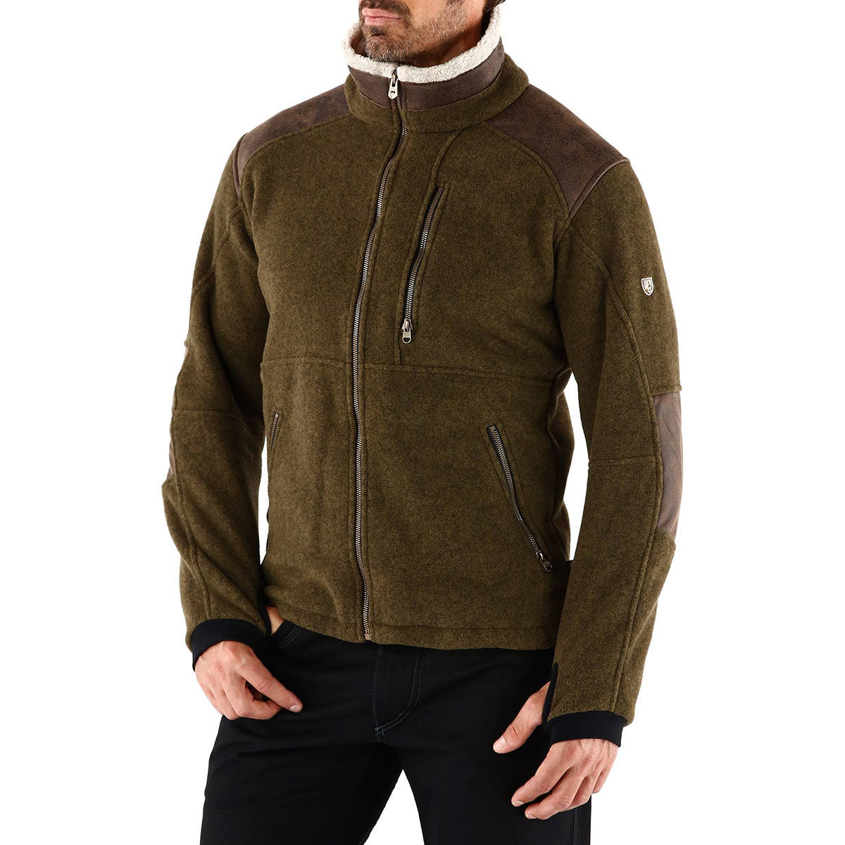 photo: Kuhl Men's Alpenwurx Jacket fleece jacket
