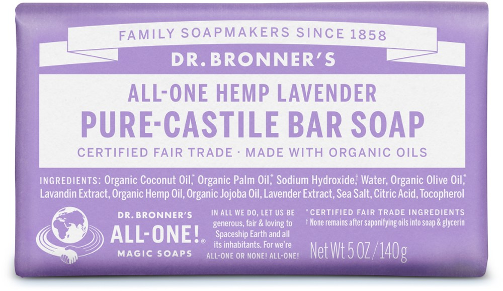 Dr. Bronner Organic Bar Soap