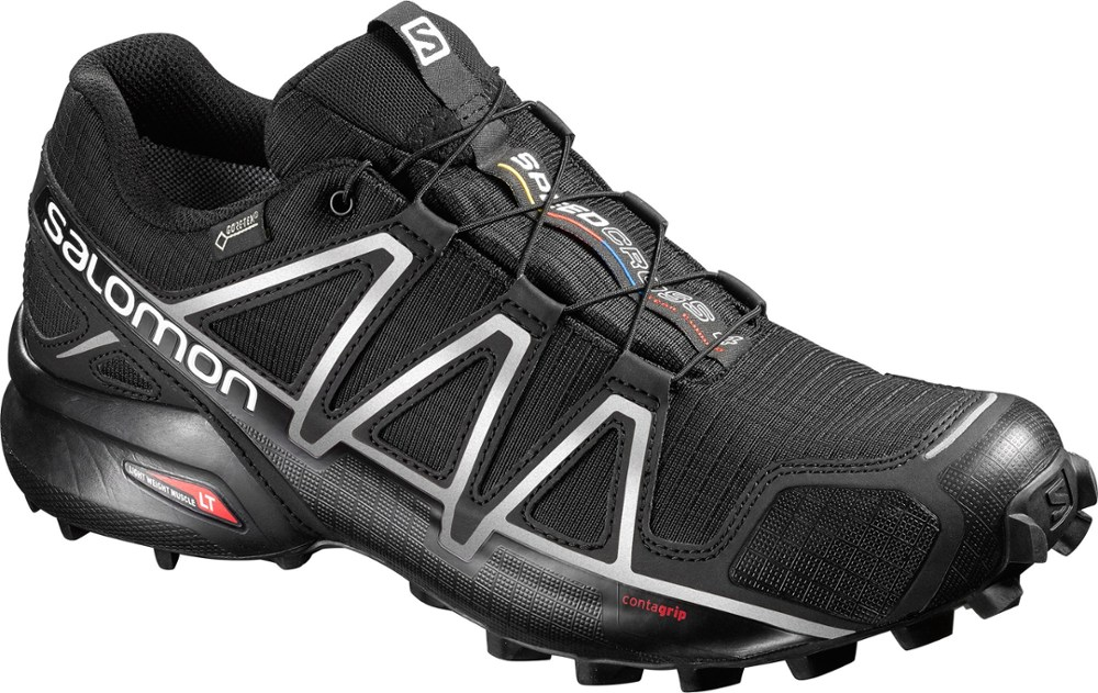 photo: Salomon Men's Speedcross 4 GTX trail running shoe