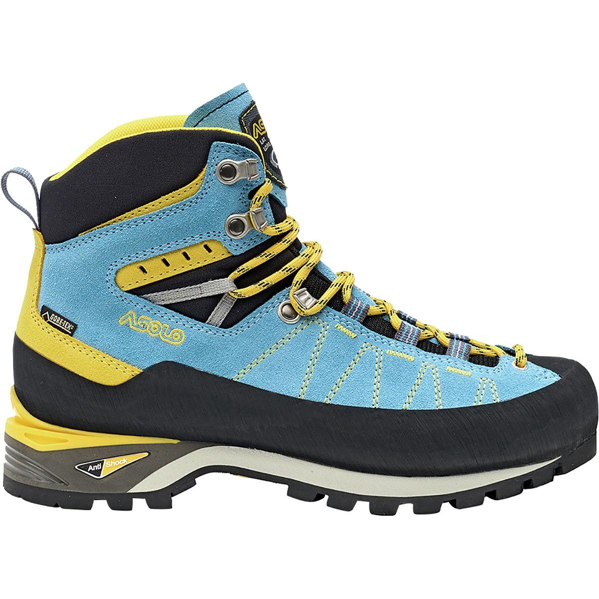 photo: Asolo Women's Piz GV mountaineering boot