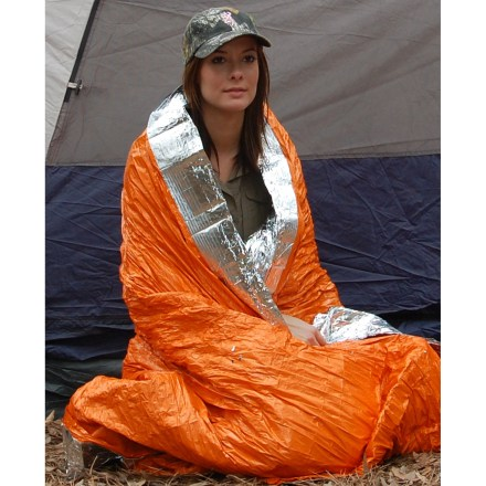 photo of a Blizzard Survival emergency shelter