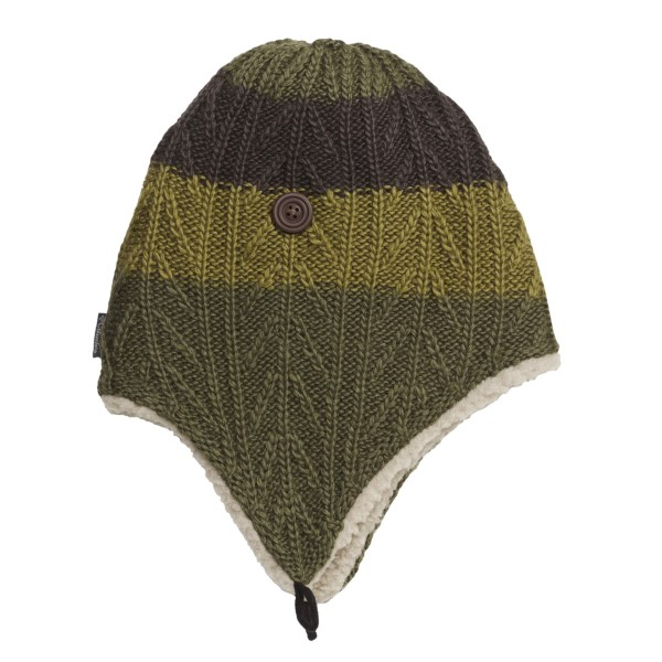 photo: Columbia Wilderness Run Peruvian Hat winter hat