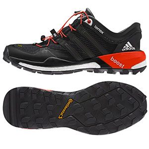 photo: Adidas Terrex Boost trail running shoe