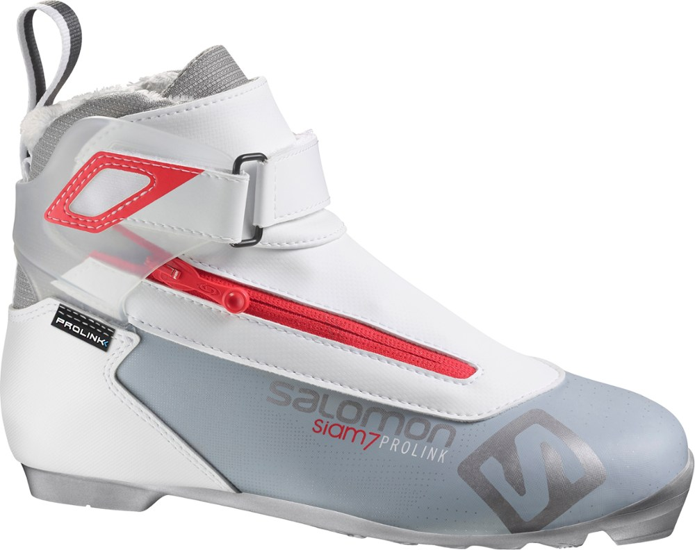 photo: Salomon Siam 7 Prolink nordic touring boot