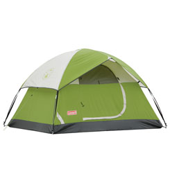 photo: Coleman Sundome 2 three-season tent