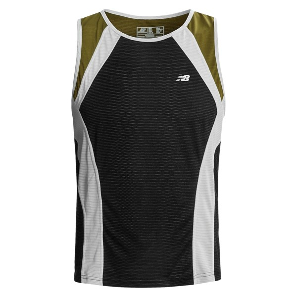 photo: New Balance Men's NBx Adapter Sleeveless short sleeve performance top