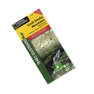 National Geographic Great Smoky Mountains National Park Map