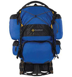 photo: Outdoor Products Mantis Dragonfly external frame backpack