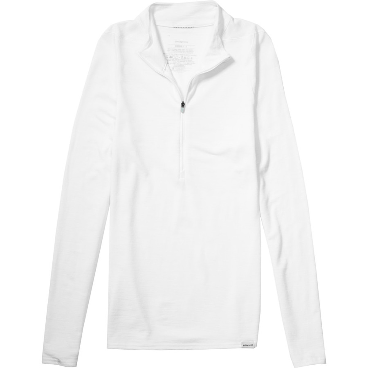 photo: Patagonia Women's Merino 2 Lightweight Zip-Neck base layer top