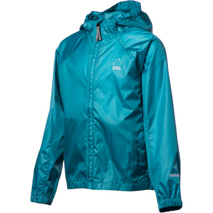 photo: Sierra Designs Girls' Microlight Jacket wind shirt