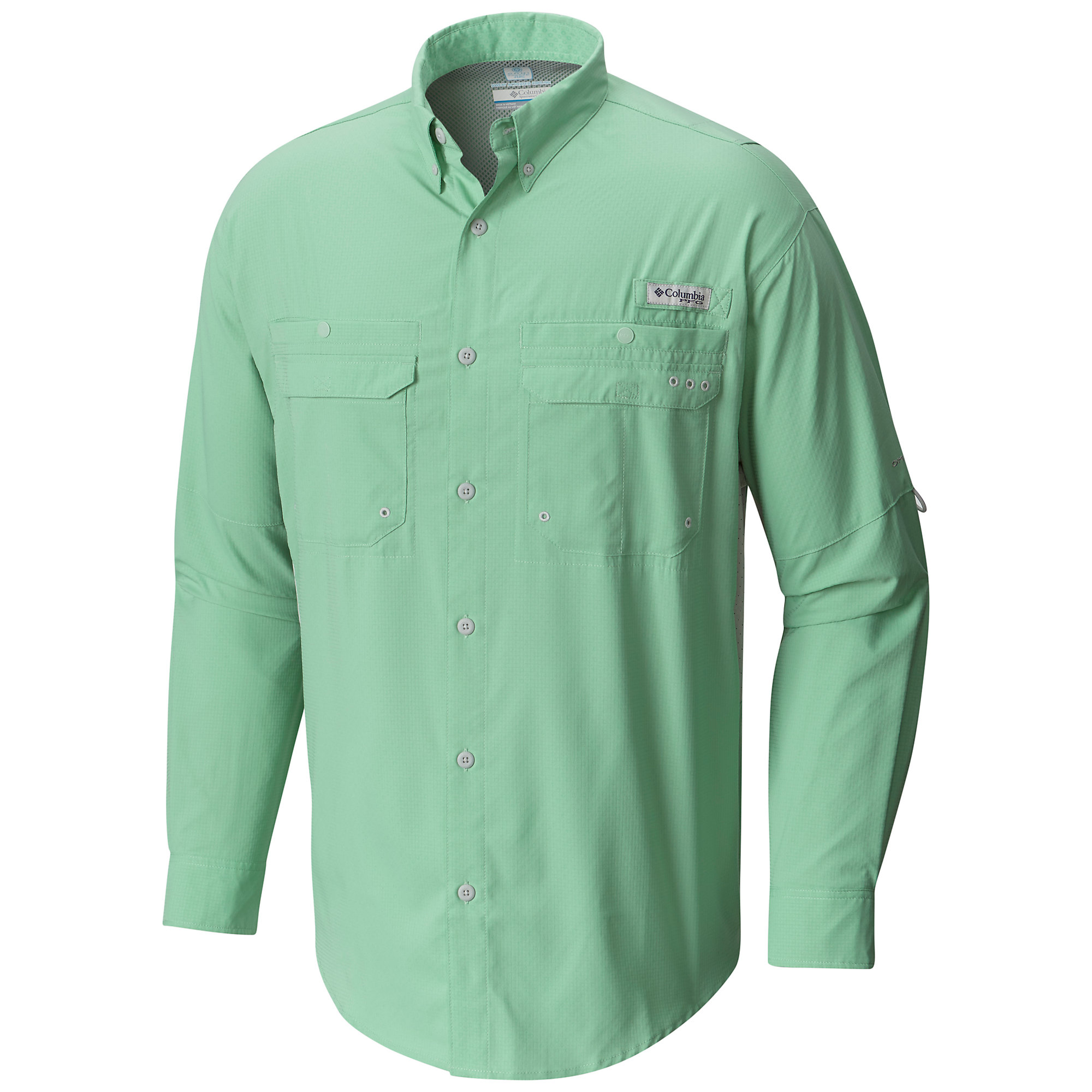 Columbia PFG Cast Away ZERO Woven Long Sleeve