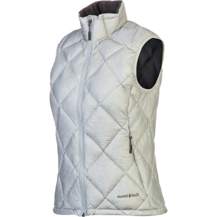 photo: MontBell Women's Alpine Light Down Vest down insulated vest
