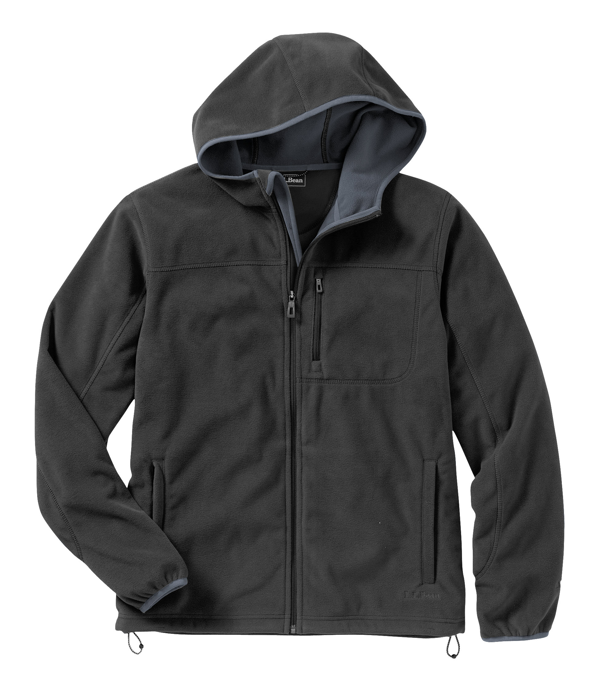 L.L.Bean Wind Challenger Fleece, Hooded Jacket