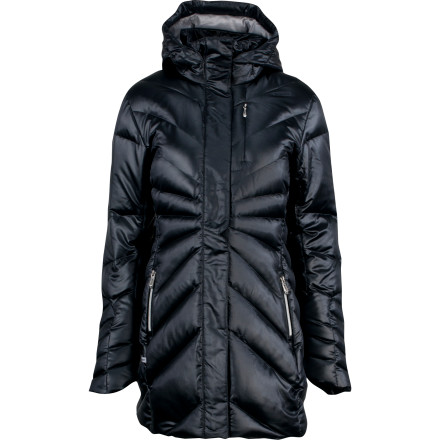 photo: Spyder Raven Down Jacket down insulated jacket