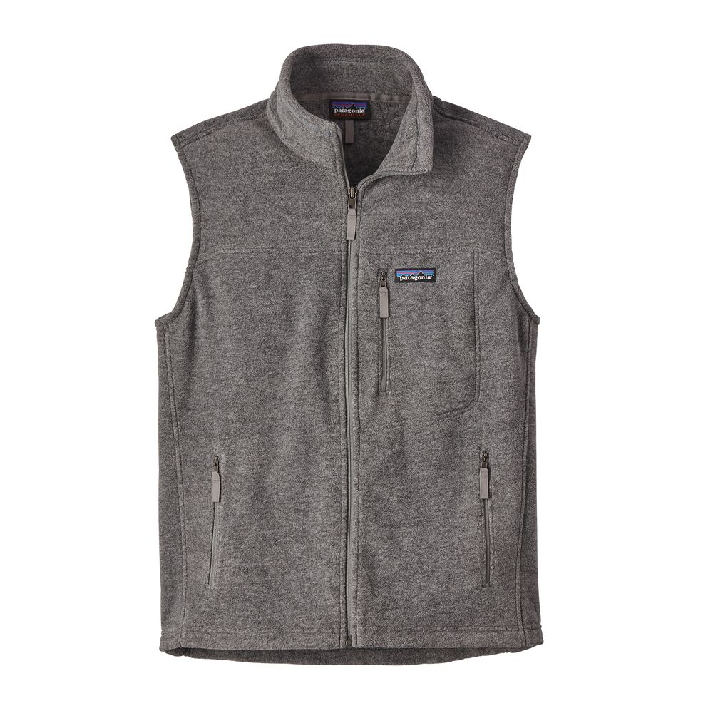 photo: Patagonia Men's Classic Synchilla Vest fleece vest