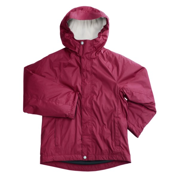 photo: White Sierra Nose Slide Jacket synthetic insulated jacket