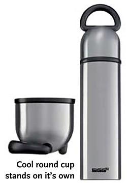 SIGG Steelworks Thermal .75 Liter Ring Bottle
