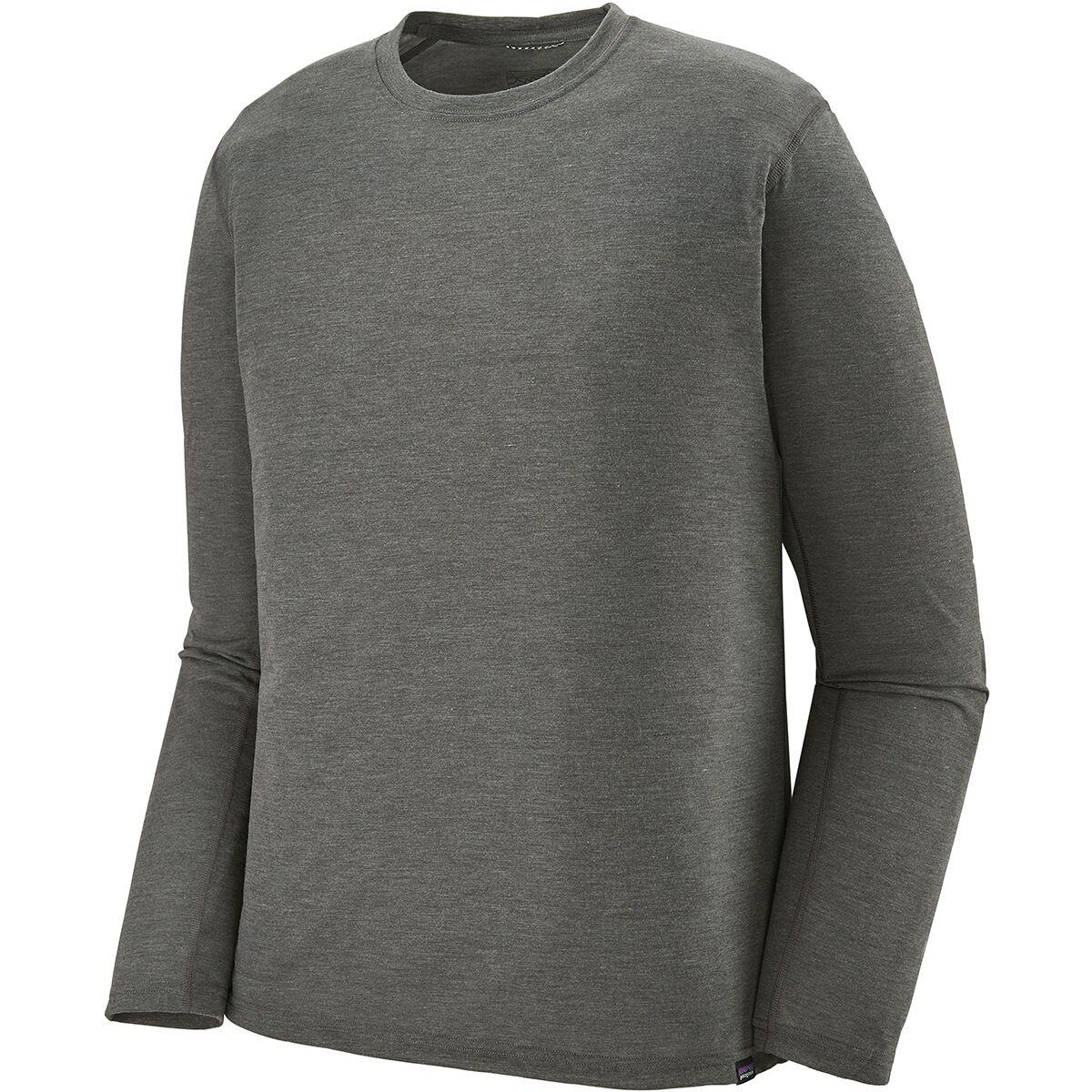 photo: Patagonia Long-Sleeved Capilene Cool Trail Shirt long sleeve performance top