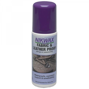 photo: Nikwax Fabric & Leather Proof footwear cleaner/treatment