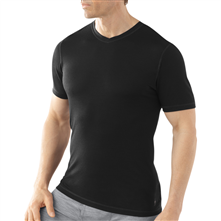 photo: Smartwool Microweight V-Neck base layer top