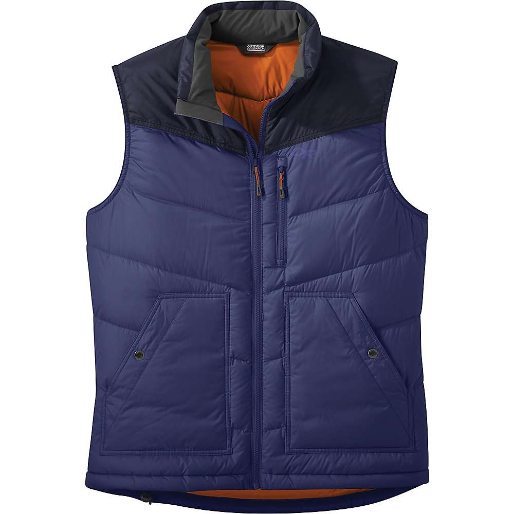 photo: Outdoor Research Transcendent Down Vest down insulated vest