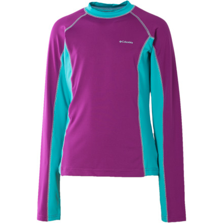 photo: Columbia Girls' Sun's Up Sunguard Long Sleeve long sleeve performance top