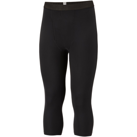 photo: Columbia Midweight 3/4 Tight with Fly base layer bottom