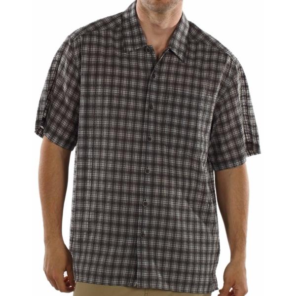 ExOfficio Next-To-Nothing Plaid Short-Sleeve Shirt