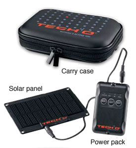 photo: Tech4o Pocket Power Pack solar charger