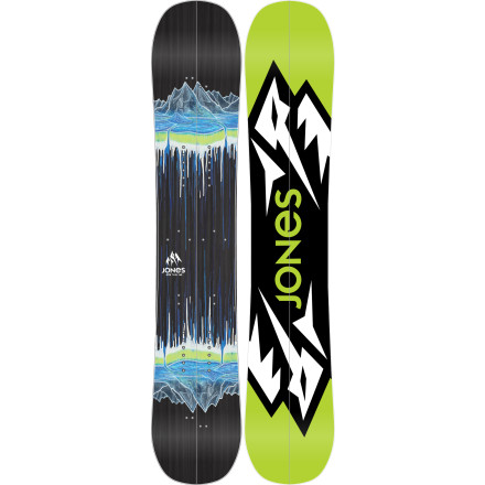 photo: Jones Snowboards Mountain Twin splitboard