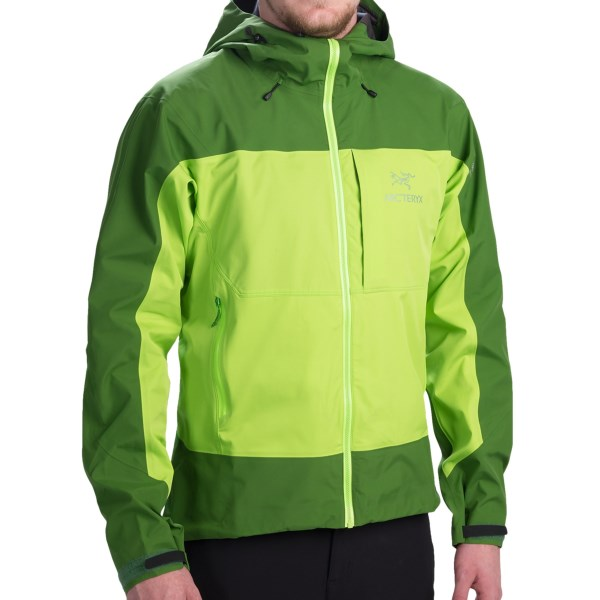 photo: Arc'teryx Alpha Comp Jacket soft shell jacket