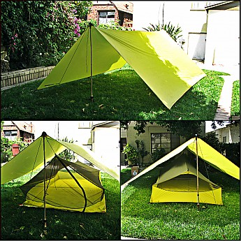 The 15 Denier Silnylon used for both the tarp and inner tent is very strong and durable. In a pinch I would use the tarp as a makeshift bivy without ... & Sea to Summit Escapist Ultra-Mesh Bug Tent Reviews - Trailspace.com