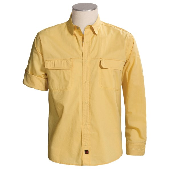 photo: Woolrich Bayshore Shirt hiking shirt