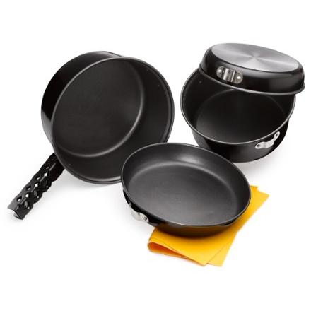 photo: REI Campware Nonstick Cookset - Medium pot/pan