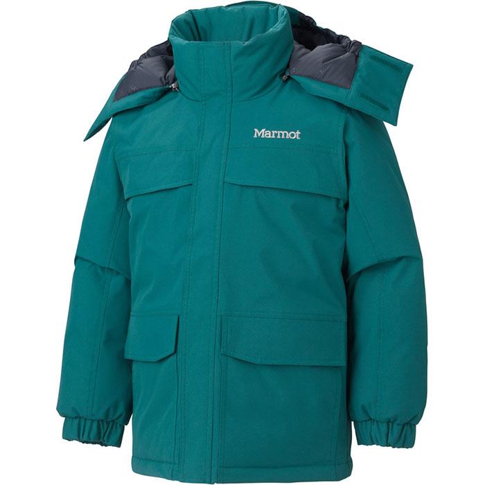 photo: Marmot Boys' Yukon Parka down insulated jacket