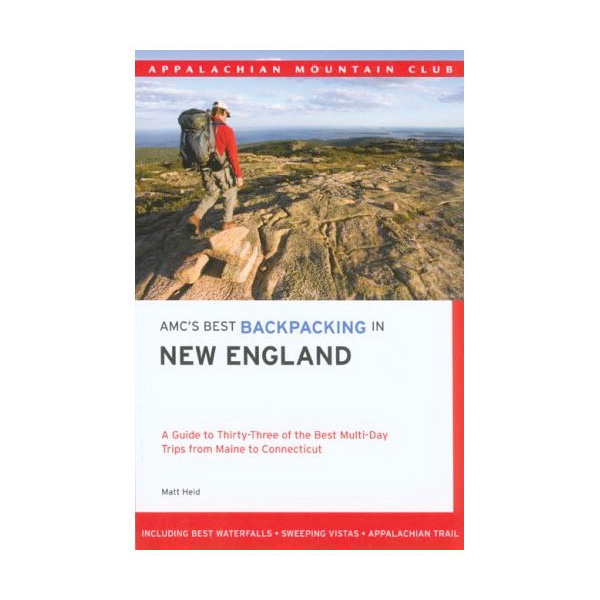 photo: Appalachian Mountain Club AMC's Best Backpacking in New England us northeast guidebook