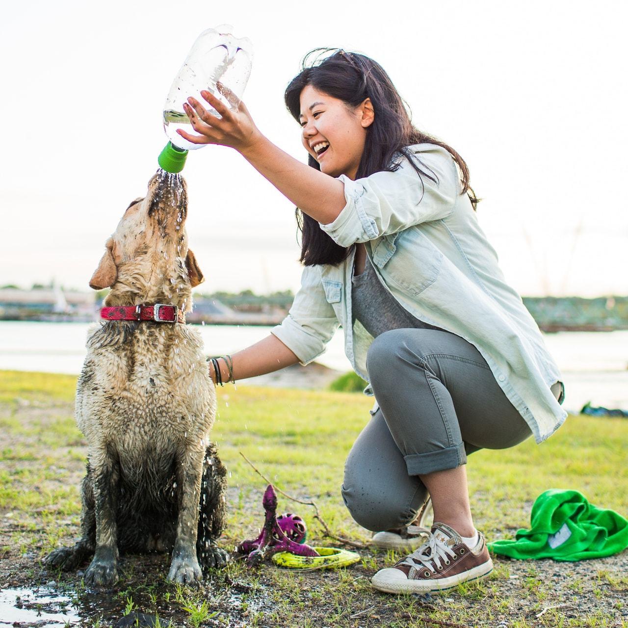 photo: Kurgo Mud Dog Travel Shower dog gear