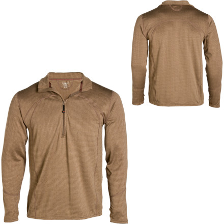 Terramar 1/2 Zip Geo Fleece Top