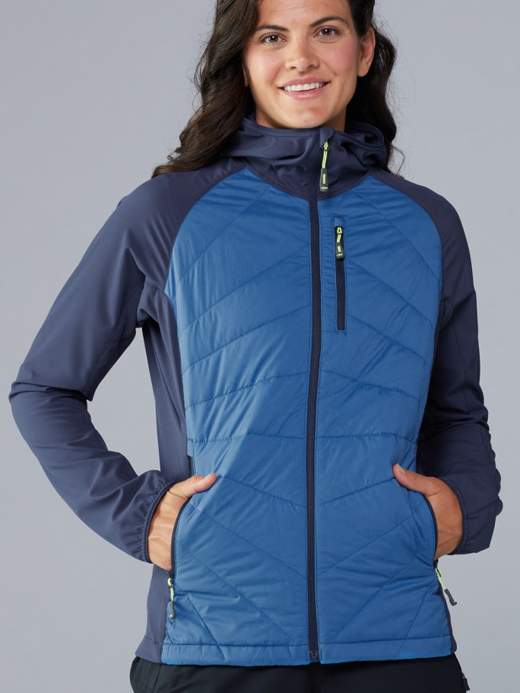 photo: Outdoor Research Women's Refuge Hybrid Hooded Jacket synthetic insulated jacket