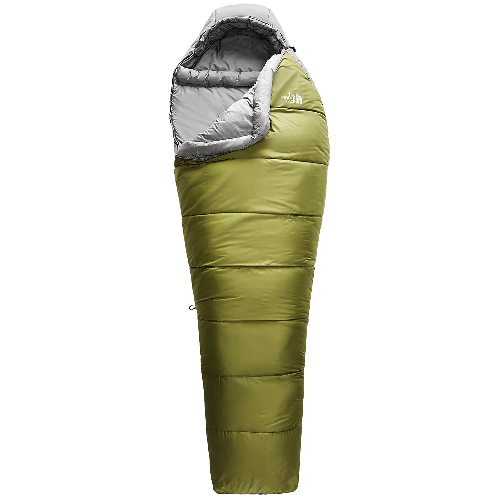 photo: The North Face Wasatch 40 warm weather synthetic sleeping bag