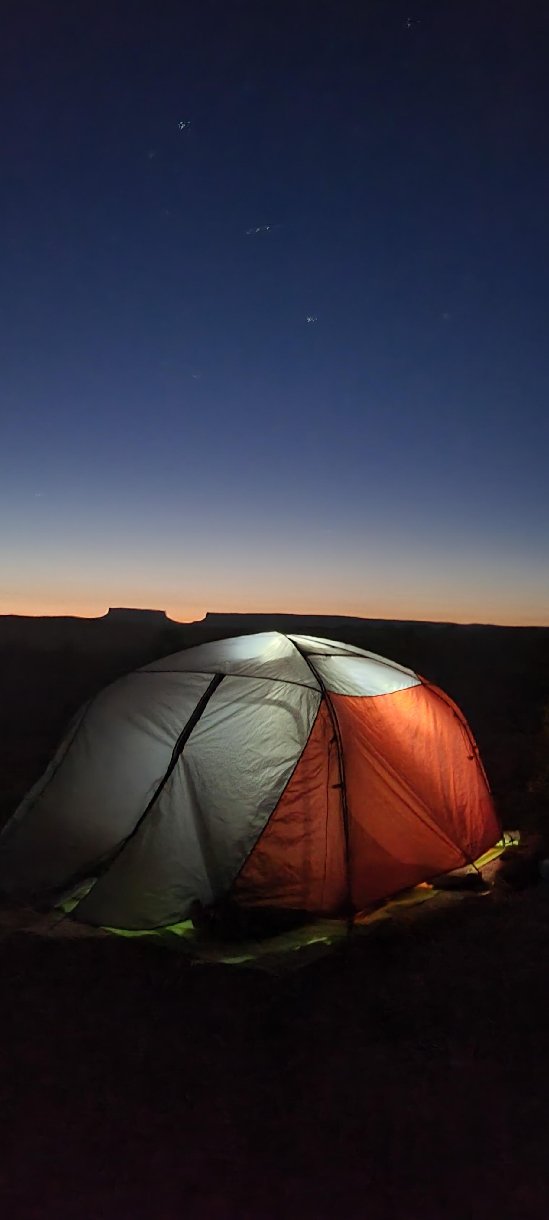 photo: Klymit Cross Canyon 3 three-season tent