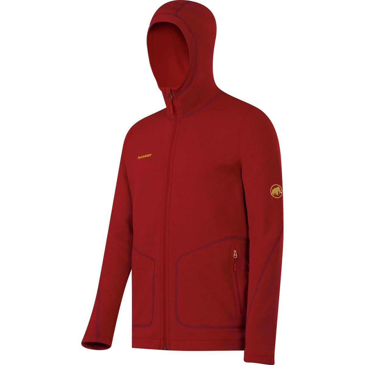 photo: Mammut Hornli Hut Jacket fleece jacket