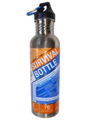 photo: SOL Survival Bottle water bottle