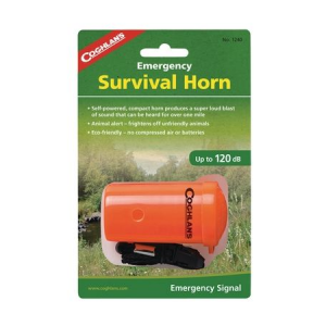 photo: Coghlan's Emergency Survival Horn whistle/horn