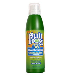 photo: BullFrog Marathon Mist Spray SPF 36 sunscreen