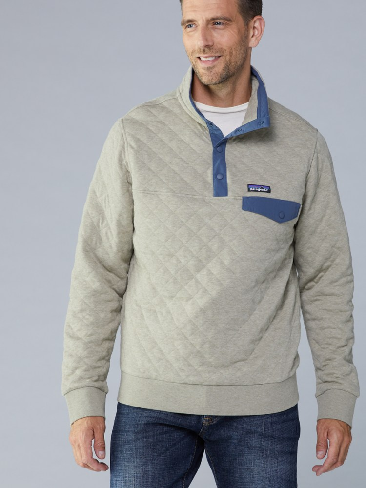 photo: Patagonia Cotton Quilt Snap-T Pullover fleece top