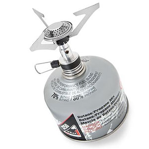 photo: Coleman Exponent F1 Ultralight Stove compressed fuel canister stove