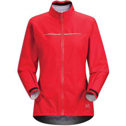 photo: Arc'teryx Women's Visio FL Jacket waterproof jacket