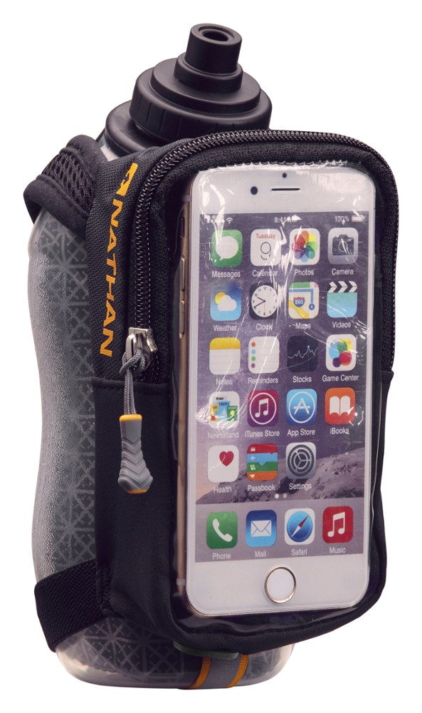 Nathan SpeedView Plus Insulated 18oz Flask with Phone Case